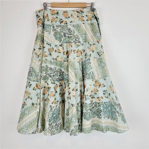 Anthropologie Tapemeasure Skirt Sz 14 A-Line